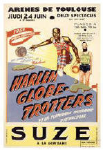 Harlem Globetrotters Tour 1954 - Limited Edition Giclee